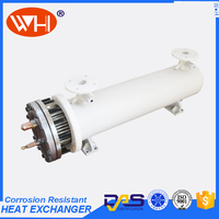 factory best heat exchanger core shell and tube heat exchanger water cooling shell and tube evaporators