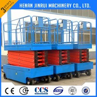 Outdoor Scissor Lift Platform Electric Hydraulic Lift Table Drawing