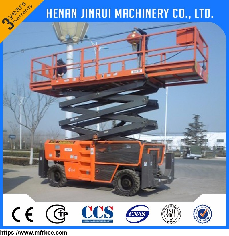 Hydraulic Lifting Platform Electric Mobile Scissor Lift Table Design