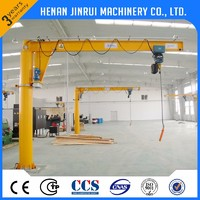 Cheap Price 1500kg 10 ton Rotary Pillar Slewing Jib Crane Manufacturer
