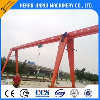 Hot Sale 5 ton 10 ton Single Girder A-frame Lifting Gantry Crane Price