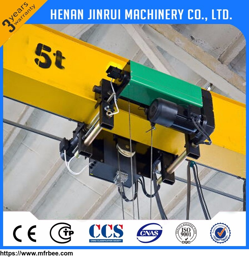 Light Weight Low Headroom 5 ton 20 ton Traveling Overhead Bridge Crane Price
