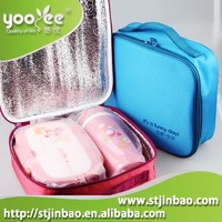 Newest Reusable Lunch Bag With Leak-proof Lunch Box And Water Bottle Set
