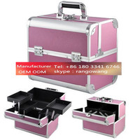 customized size oem partition square cosmetic case