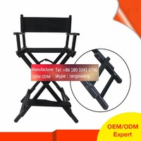 custom wholesale in stock durable lightweight aluminum folding cosmetic portable makeup chair