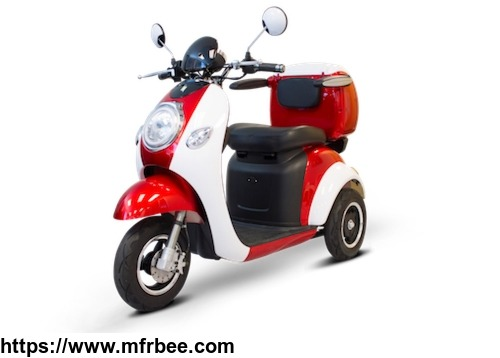 48V500W New Style 3 Wheel Electric Mobility Scooter trike, Electric Disabled Tricycle with Windshield