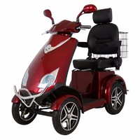 more images of Four Wheel Disabled Electric Scooter, Mobility Scooter for Elder People