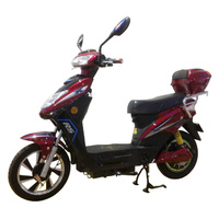 CE classic popular 48v 500w battery power electric scooter for adults,electric bicycle with pedal