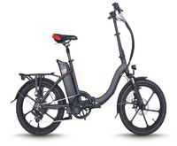 250W Aluminum 6 spokes rims motor electric bike,removable battery folding electric bike