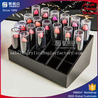 Firm Acrylic Lipstick Tower 24 Slot Acrylic Lipstick Holder Lipstick Organizer