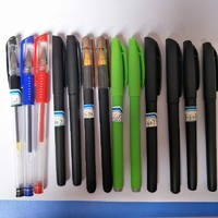 Gel pen with 0.7mm steel tip for promotion