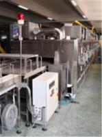 China high quality stainless steel  Bakery Production Line manufacture