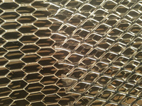 Decorative Aluminium Expanded Metal Mesh