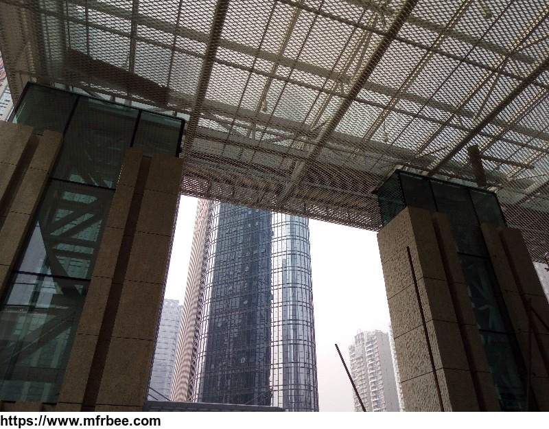 aluminum_suspended_ceiling_expanded_metal_mesh