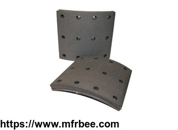 hot_sale_china_factory_no_hole_truck_brake_lining_brake_pads