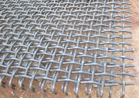 Crimped Wire Mesh Application as Screen for Mining