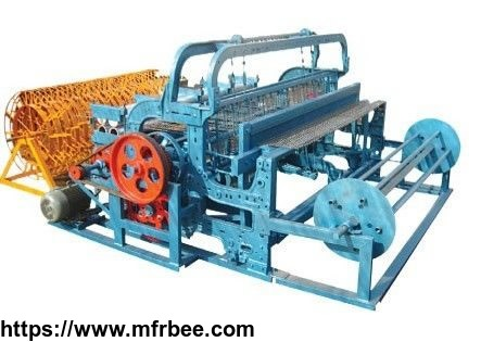 semi_automatic_wire_mesh_crimping_machine_description
