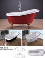 Classic Red Bathtub TCB009G