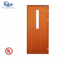 UL wooden fire door