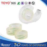 Crystal clear OEM bopp printing stationary tape
