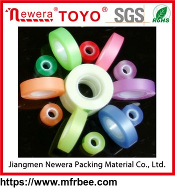 fluorescent tape school stationary labeling tape