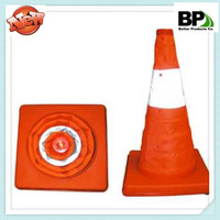 500mm ABS or PP material traffic cone
