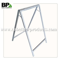 Steel Tripod sign stand Stacker portable sign stand