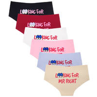 Yun Meng Ni Underwear New Desgin Printed Women Panties Hipister Seamless Ladies Lingerie