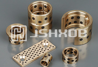 HXOB-1 Self-lubricating bronze bushing, bronze sleeve bearings oilless bearings