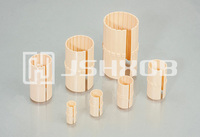 Open long type design plastic linear slides bushings LIN-01K