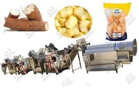 Cassava Chips Making Machine|Tapioca Wafer Production Line
