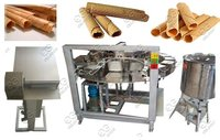 Electric Waffle Rolls Processing Line|Barquillos Baking Machine