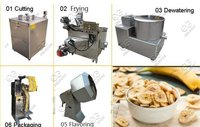 Semi Automatic Banana Chips Plant|Mini Plantain Chips Processing Line