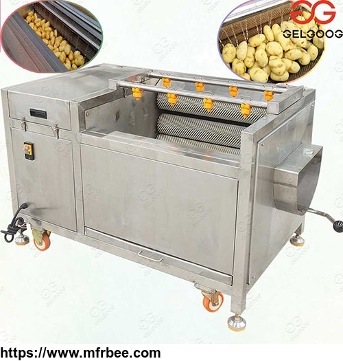 automatic_potato_washing_peeling_machine