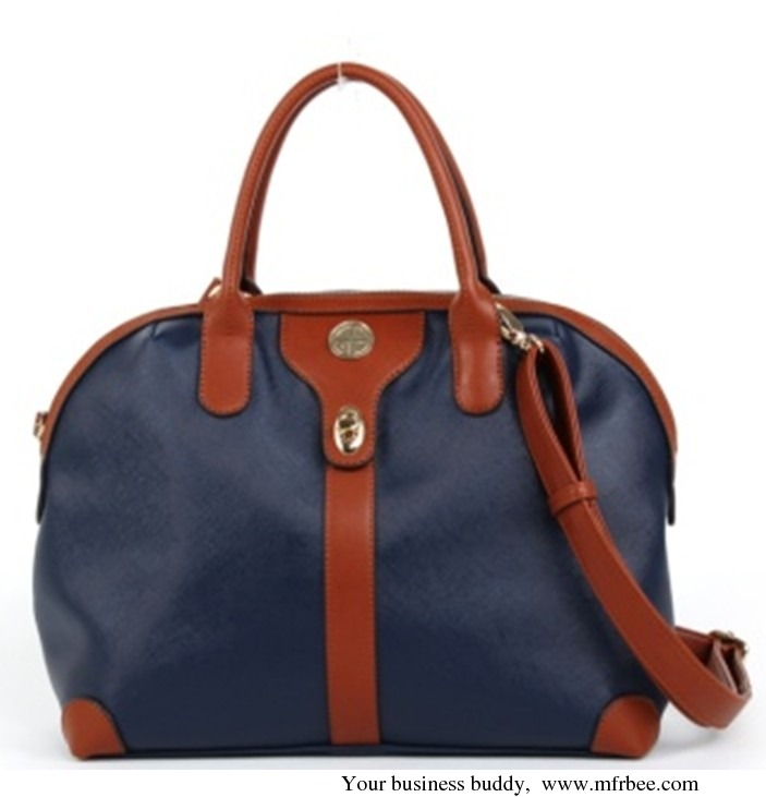 Simple design big fashion PU lady handbag