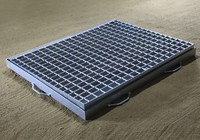 Heavy Duty Sump square trench drain grating cover