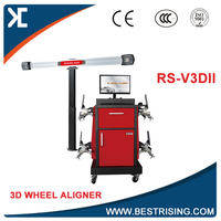 Mobile used wheel alignment machine with 3D camera