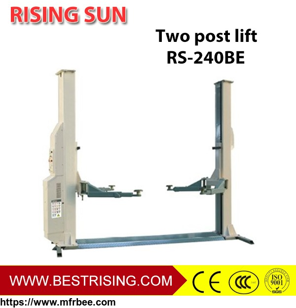 electric_release_2_post_car_lift_for_sale