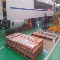Sound insulation and fire retardant bullet train wooden flooring plywood