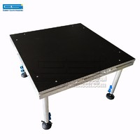 Cheap Price Used Outdoor Aluminum Light Dance Wedding Mobile Portable Stage Platform Concert Event For Sale