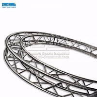 Factory lower price aluminum circle circular round outdoor concert show event spigot truss for sale