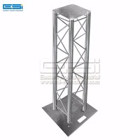 Cheap price outdoor event universal head light wedding aluminum moving pillar vertical totem truss for sale
