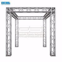 Cheap outdoor small stage DJ equipment aluminum roof system ceiling lighting truss for sale