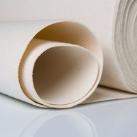acrylic needle punched filter cloth/acrylic filter fabric/acrylic nonwoven needle punched felt