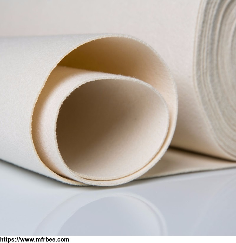 Acrylic base cloth anti-static dust fabrics /non-woven fabric filter cloth