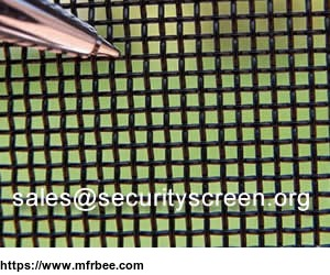 316L Stainless Steel Security Screen