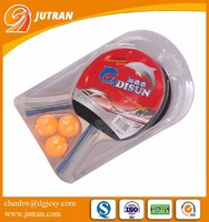 Clear round plastic packaging blister clamshell packaging
