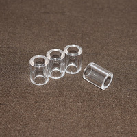 Deep processing customized clear quartz glass tube