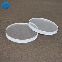 clear quartz silica fire resistant glass plate