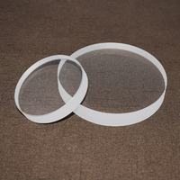 High temperature fused silica quartz sight glass